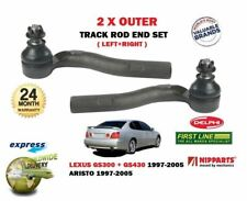 FOR LEXUS GS300 GS430 ARISTO 1997-> 2x OUTER STEERING TRACK RACK TIE ROD ENDS