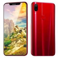 6.2'' Android 8.1 4GB +64GB 3G Smartphone Cellulare Octa core U Schermo Rosso