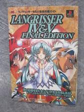 LANGRISSER IV & V 4 5 Guide Final Edition Book PS SG07