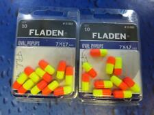 20 FLADEN 17 X 7mm FLOATING POPUP RIG BEADS SEA PIER RIG BOAT FISHING