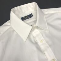 Ralph Lauren Shirt M Mens white short sleeve Genuine - surplus stock