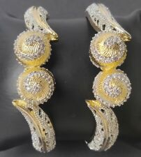 BEAUTIFUL TOP QUALITY AMERICAN DIAMOND BANGLES- VARIOUS SIZES AVAILABLE #75