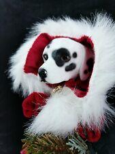 Two Sisters & Company Original Pet Angel Tree Topper Dalmatian Santa Christmas