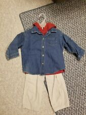 All Mine Collection Infant Boys 3 Pc Long Sleeve Pant Set Size 24 Months