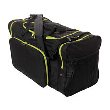 Blank Team Sports Bag 600D Polyester Yellow/ Black Ready for Embroider FAST SHIP