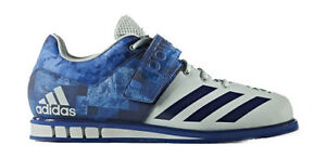 Adidas Men's Powerlift 3 Vapor Green/Blue Weightlifting Shoes BB3075 Sz 7 10