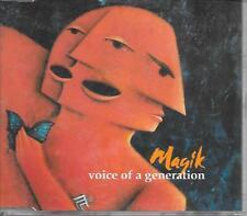 MAGIK - Voice of a generation CDM 3TR Germany 1993 RARE!