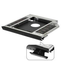 SATA 2nd Hard Drive SSD HDD Caddy Bay For Dell Latitude E6440 E6540 9.5mm
