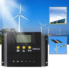 60A 12-24V/48V Solar Regulator Solar Charge Controller LCD Solar Genetator QT