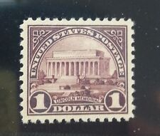 571, $1 Lincoln Memorial, Centering Gem 100 Centering ! Mint/Mnh