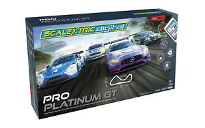 Scalextric C1413 Digital ARC Pro Platinum GT Slot Car Set*