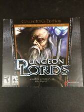 Dungeon Lords Collectors Edition PC RPG MMO 98/ME/2000/XP