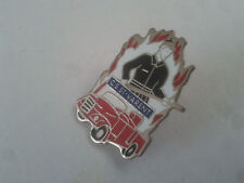 PIN'S PINS pompier sapeur ancien véhicule  + attache B