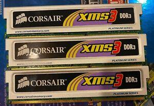 Corsair DDR3 3x 2 GB 1600 mHz C9 Platinum Series