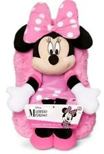 "NEW AS SEEN ON TV DISNEY MINNIE MOUSE 5"" HIDEAWAY PETS PILLOW."