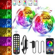LED Band Streifen RGB Stripe Licht Leiste 5050 SMD Leuchte Lichterkette Dimmbar