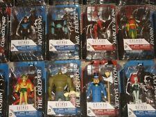 DC Batman Animated Action Figures: Bane, Poison Ivy, Catwoman, Harley, Gotham