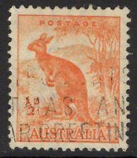 Australia SG164 1938 1/2 D Naranja P 13 1/2 x14 Usado
