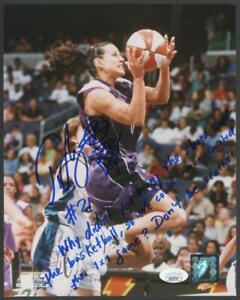 TICHA PENICHEIRO signed 8x10 photo w/awesome inscription! | autograph - JSA
