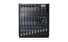 Alto Live802 8 Channel Band PA Live Studio USB Mixer Mixing Desk 100 Effects 802