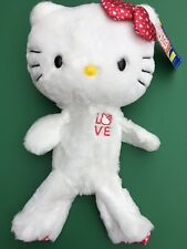 Build a Bear Retired Full Size Hello Kitty Love Plush Toy - Unstuffed - NWT