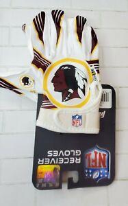 Washington Redskins Official NFL Franklin Receiving Gloves - S/XS
