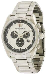 Emporio Armani Stainless Steel Chronograph Mens Watch AR6007