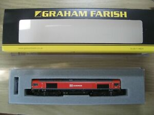 Graham Farish Class 66 DCC fitted