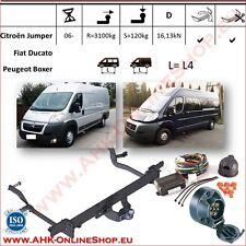 Gancio traino Citroen Jumper / Fiat Ducato L=L4 2006- +elettrico 7-poli