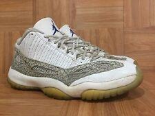 Vintage🔥 Nike Air Jordan 11 XI Retro Low White Cobalt Zen Gray Sz 9 306008-142
