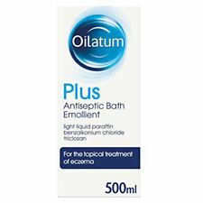 Oilatum Plus Antiseptic Bath Emollient 500ml