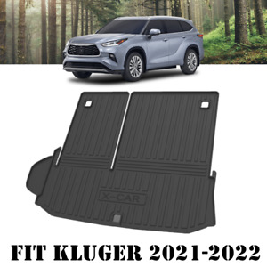 Heavy Duty Trunk Cargo Mat Boot Liner Luggage Tray Fit Toyota Kluger 2021-2022