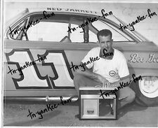 1961 Type 1 NASCAR 8 x 10 Photo NED JARRETT Autograph/Signed (1961 CHAMPION)!
