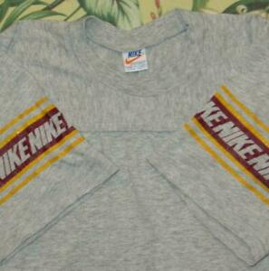 Vtg NIKE Orange Label Tag Short Sleeve T Shirt S/M