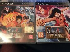 PS3 - ONE PIECE - PIRATE WARRIORS 1 E 2