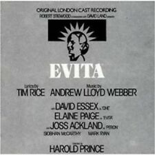 Evita-Londres CAST-Bande Originale-Andrew Lloyd Webber * NEW CD * NOUVEAU *