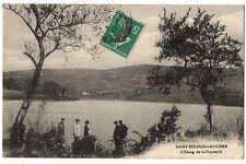 CPA 87 - SAINT SULPICE LAURIERE (Haute Vienne) - L'Etang de la Papeterie