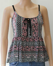 New Look Women's Vest Top, Strappy, Cami Scoop Neck Hip Length Tops & Shirts