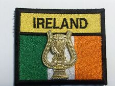 Irish Army patch + badge attached.