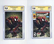Spider-man #1 FACSIMILE CRAIN VARIANT SET CGC SS 9.8 - SIGNED CLAYTON CRAIN