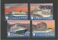 GIBRALTAR 2008 CRUISE SHIPS 4TH SERIES SG,1286-1289 U/MM N/H LOT 3854A
