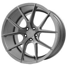 """19"""" Inch Verde V99 Axis 19X8.5 5x114.3(5x4.5"""") +15mm Graphite Wheel Rim"""