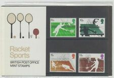 GB 1977 Racket Sports SG1022-1025 Presentation Pack No 89 - MNH