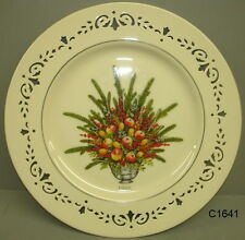 Lenox Colonial Bouquet Plate 1995 Virginia mint in box 1St In Series