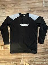 Elite Bjj Mma Rashguard Compression Shirt L