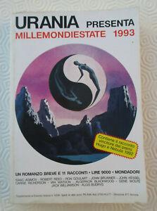 MILLEMONDIESTATE 1993 1 Romanzo Breve e 11 Racconti QUASI NUOVO
