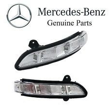 Mercedes W211 W216 CL500 Set Left and Right In Mirror Housing Turn Signal Lights