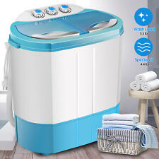 Portable Compact Top Load Washing Machine Mini Twin Tub Compact Spin Dryer Laund