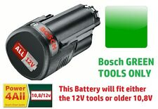savers 2.5AH BOSCH Tool 12v Battery Li-ION Rechargable 1600A00H3D 3165140852623