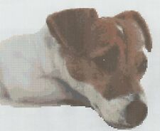 Jack Russell Counted Cross Stitch Kit
